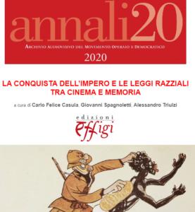 Speciale pubblicazione AAMOD su cinema e colonialismo italiano