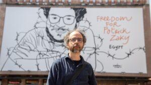 """Libertà per Patrick Zaky. Costantini: """"Il filo spinatorappresenta la disumana sofferenza"""""""