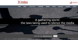 Pubblicato il rapporto di Index on censorship, una panoramica sulle leggi utilizzate per colpire i media in Europa