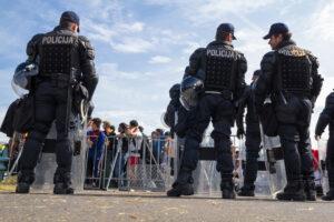 Croazia, gli abusi della polizia