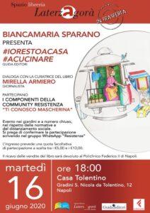 Bianca Maria Sparano inventa un ricettario solidale