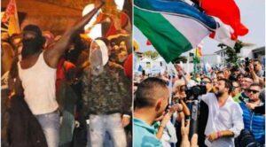 Giornalista aggredita dalla polizia durante comizio Salvini a Mondragone