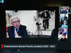 V° Premio Zavattini. Presentata in streaming l'edizione 2020/2021
