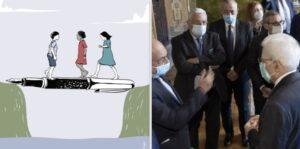 """Consegnata al presidente Mattarella la Carta di Articolo21 """"Parole non Pietre"""""""