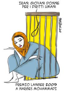 Iran, l'appello urgente di Narges Mohammadi