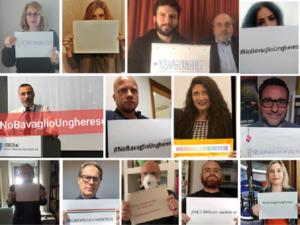 #Nobavaglioungherese, oggi tweetstorm e video incontro promossi da Articolo 21