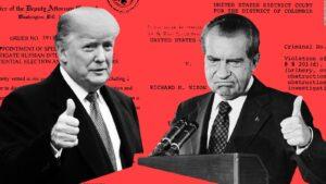 Trump sulle orme di Nixon