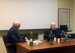 La lectio magistralis di Sergio Zavoli all'inaugurazione della Fondazione sul giornalismo 'Paolo Murialdi'