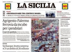 Vertenza quotidiano La Sicilia di Catania, la Fnsi al fianco dei colleghi
