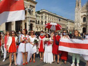 Bielorussia. Protesta delle donne in piazza. E scattano gli arresti