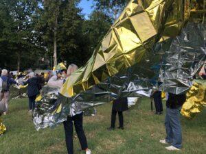 Udine partigiana: schierata con l'umanità