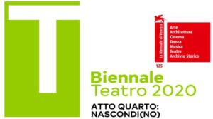 """Alla Biennale Teatro di Venezia è di scena """"Nascondi(no) atto quarto diretto da Antonio Latella"""