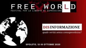Festival Free Wor(ld) per la libertà di espressione. Spoleto, 15-18 ottobre