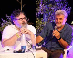 """L'inferno tra noi descritto in un incontro tra Marco Omizzolo e Daniele Moschetti.  Con uno slogan: """"Viva gli ultimi della terra"""""""