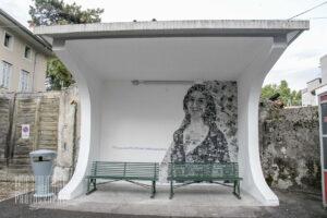 A Ronchi dei Legionari l'inaugurazione del murale Daphne Caruana Galizia alla presenza di Andrea Martella