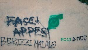 Altre minacce a Paolo Berizzi. La scritta apparsa a Cologno Monzese