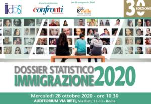 """""""Netto calo dei migranti non comunitari: così sono scivolati nell'irregolarità"""". Anticipazione Dossier Immigrazione 2020 del 28 ottobre"""