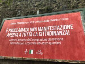 Scontro a Trieste tra gruppi fascisti e antifascisti