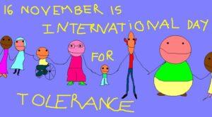 16 novembre, Giornata della Tolleranza, antidoto all'odio e alla discriminazione