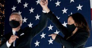 Joe, Kamala e l'onda blu che ha fermato Trump