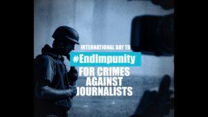 End Impunity day, dal 2000 uccisi 1500 giornalisti. Troppi ancora senza giustizia