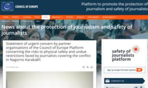 Nagorno Karabakh: l'informazione a rischio