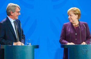 Debito via, Sassoli parla e Merkel tace