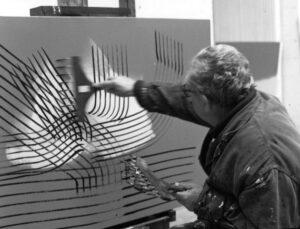"""Lo schermo dell'arte. """"Hartung, la fureur de peindre"""", astratto, antifascista e cittadino del mondo"""