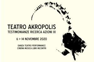 Testimonianze Ricerca Azioni XI edizione in versione streaming al Teatro Akropolis di Genova