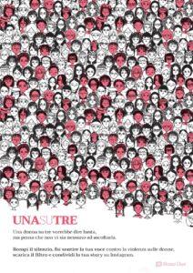 #UnaSuTre, la campagna social contro la violenza sulle donne
