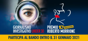 Aperto il bando del Premio Roberto Morrione 2021