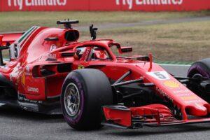 Slalom a 9 per la Ferrari
