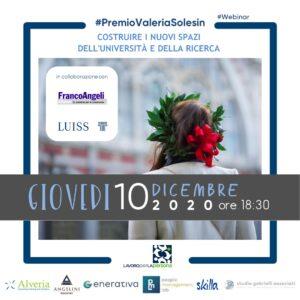 Premio Valeria Solesin per tesi magistrale – V edizione