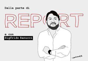 Minacce a Ranucci e Report, una vignetta per la libertà di informazione