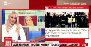 Troupe Rai aggredita a Roma, la solidarietà di Fnsi e Usigrai