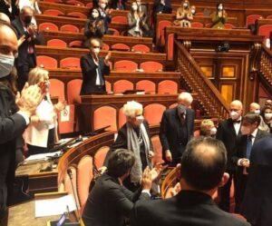 Senato, Conte incassa la fiducia ma l'unica a vincere è Liliana Segre