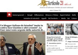 Nuovo sito Articolo21. Giovedì 14 gennaio la presentazione alle 13.30