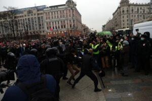Russia: oltre 4000 arresti in un solo giorno