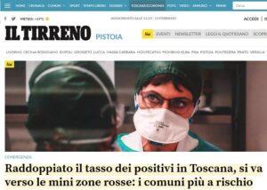 """Il Tirreno: minacce sui social alla sede di Pistoia, a Livorno aggredito un cronista. Fnsi e Ast: """"Basta"""""""