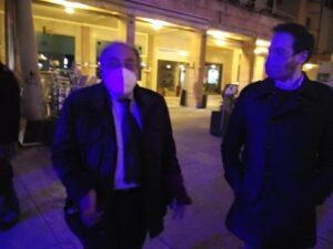 """A Trento per """"Un'ora con.. """" il presidente Fnsi Giulietti in visita al Teatro Sociale """"illuminato"""""""