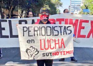 Messico, i giornalisti dell'agenzia Notimex in sciopero da un anno. La Fnsi con la Ifj al fianco dei colleghi