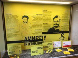 """Il Comune di Bolzano, Centro per la Pace e Amnesty International chiedono """"Giustizia per Giulio Regeni e Patrick Zaki!"""""""