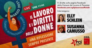 """""""Il Lavoro ed i Diritti delle Donne: una riflessione sempre presente"""". 8 marzo, 17.45"""