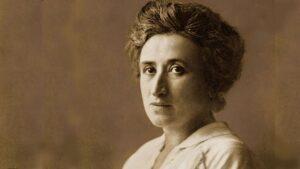 Rosa Luxemburg, la bandiera rossa