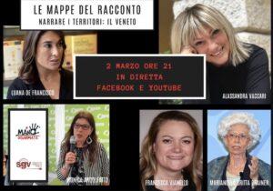 """Narrare i territori """"A mano disarmata"""": il 2 marzo si parla di Veneto"""