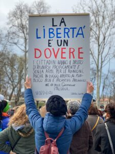 Parma della libera scelta: Evento per la libertà
