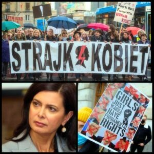 Lunedí 8 marzo giornata della Donna in sostegno delle donne polacche