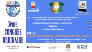 Terzo congresso del Cogid internazionale presieduto da Fatou Diako