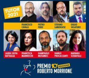 Decima edizione Premio Morrione: la squadra dei tutor 2021