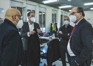 Minacce ai giornalisti del Tirreno, Fnsi, Ast e Odg Toscana in visita alla redazione